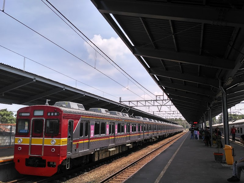 Photo de Bekasi railway station